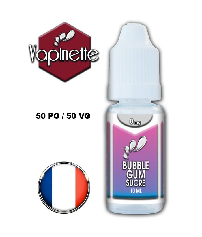 Arôme bubble gum sucre