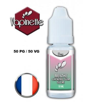 Arôme menthe chewing-gum sucré